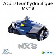 MX8 Le robot aspirateur hydraulique piscine