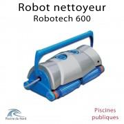 Robotech 600 Robot nettoyeur pour piscine publique