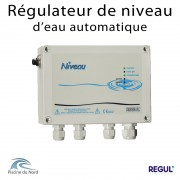 Régulateur de niveau d'eau automatique pour piscine à skimmer