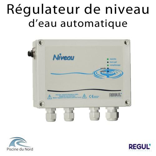 Régulation de niveau d'eau automatique pour piscine à skimmer