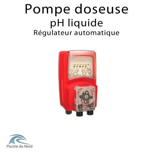 Régulateur automatique de pH liquide pour piscine