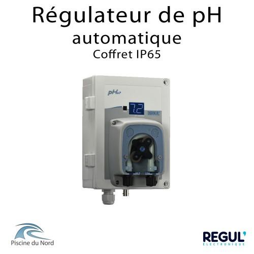 Régulateur de pH pour piscine, le traitement automatique de l'eau