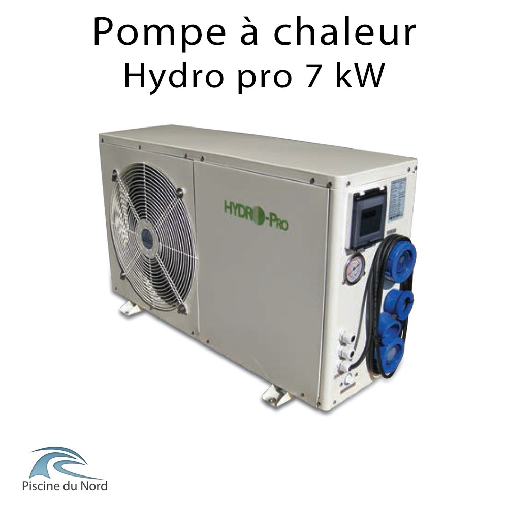 Pompe a chaleur 7kw for Chauffage piscine 6 kw