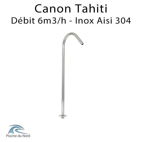 Canon à eau Tahiti en Inox 304 débit 6m3/h
