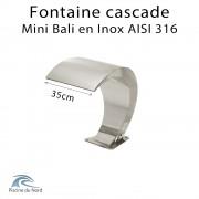 Chute d'eau pour piscine Mini bali en Inox AISI 316