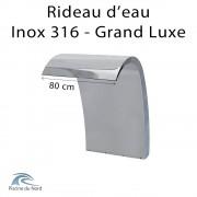 Chute d'eau 80 cm en Inox AISI 316 Victoria