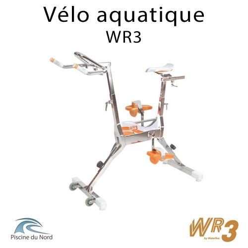 Vélo aquatique WR3, l'aquabike familiale