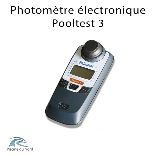 Photomètre électronique Pooltest 3 fonctions