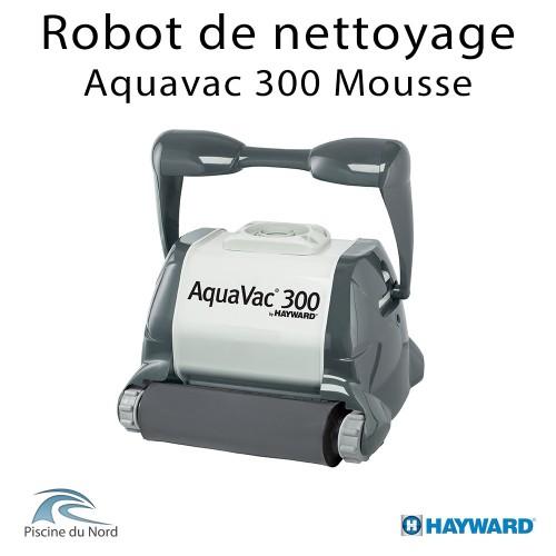 Robot piscine Hayward AQUAVAC 300 Mousse