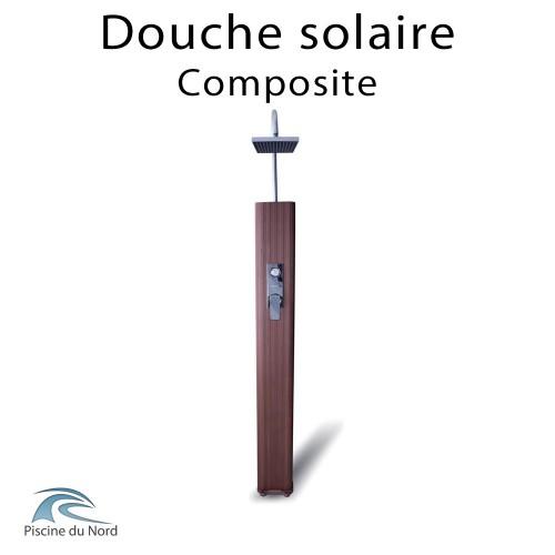 Douche solaire 35 litres habillage composite