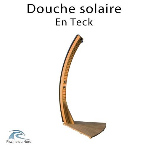 Douche solaire en Teck avec reservoir de 20 litres