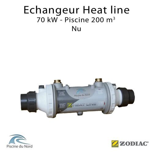 Echangeur tubulaire piscine Heat line 70kW Nu Zodiac Poolcare