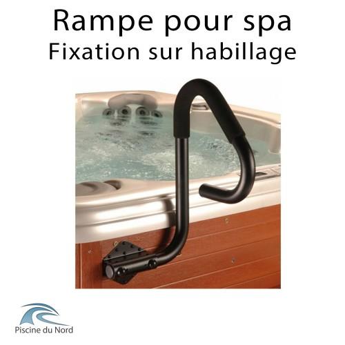 Rampe de spa avec fixation sur habillage