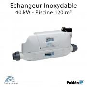 Echangeur de chaleur Aqua mex 40kW Acier inoxydable Pahlén
