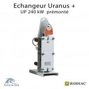 Echangeur à plaques UP 240 kW Zodiac Poolcare