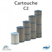 Cartouche Filtrante Weltico C2 270mm