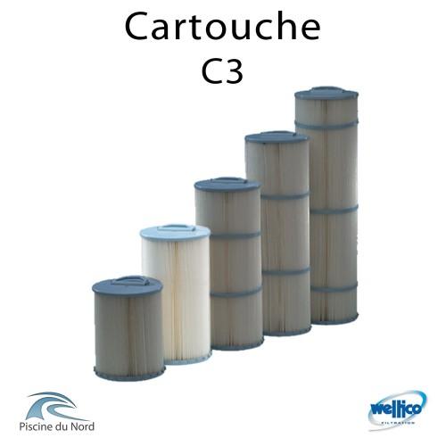 Cartouche Filtrante Weltico C3 395mm