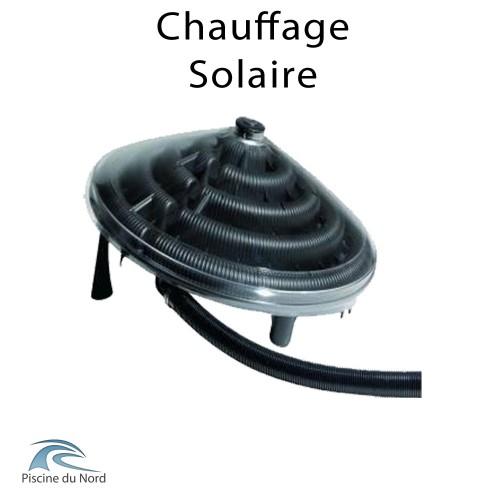 Chauffage solaire pour piscine hors sol autoportante