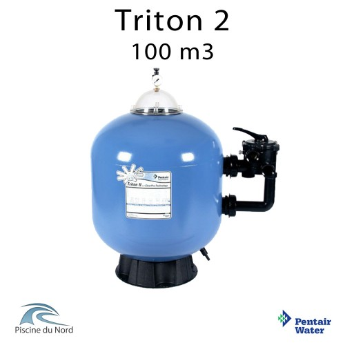 Fltre à sable Triton 2 F-30S8-TRCP Pentair