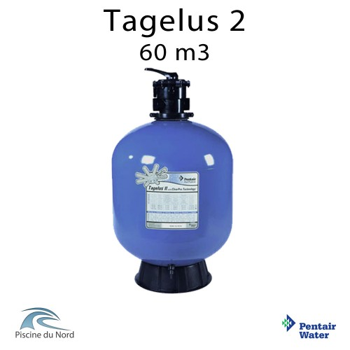 Fltre à sable Tagelus 2 F-24T8-TACP Pentair