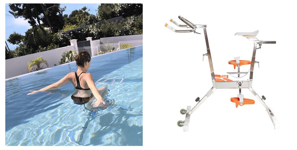 Dimensions aquabike WR3 waterflex